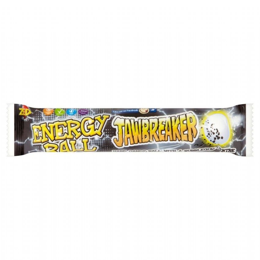 Energy Ball Jawbreaker 5 Pack Zed Candy Novelty Bubblegum Sweets